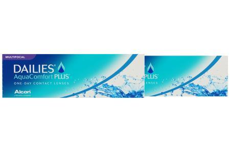 Dailies AquaComfort Plus Multifocal, 2x30 Stück Kontaktlinsen von Ciba Vision / Alcon