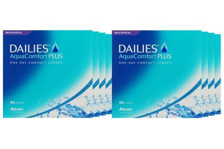 Dailies AquaComfort Plus Multifocal 8 x 90 Tageslinsen Sparpaket 12 Monate