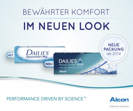 Dailies AquaComfort Plus Toric 8 x 90 Tageslinsen Sparpaket 12 Monate | Dailies AquaComfort Plus Toric Sparpaket 12 Monate 8 x 90 Stück Kontaktlinsen, von Ciba Vision / Alcon
