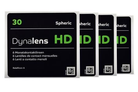 Dynalens 30 HD, 4 x 6 Stück Kontaktlinsen von Dynoptic