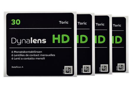 Dynalens 30 HD Toric, 4 x 6 Stück Kontaktlinsen von Dynoptic