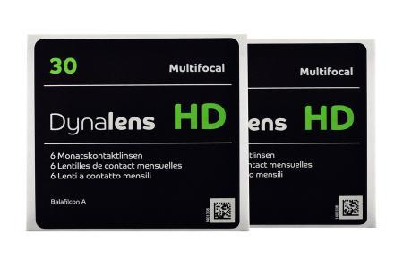 Dynalens 30 HD Multifocal, 2 x 6 Stück Kontaktlinsen von Dynoptic