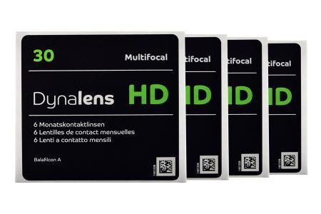 Dynalens 30 HD Multifocal, 4 x 6 Stück Kontaktlinsen von Dynoptic
