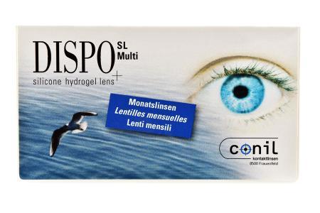 Dispo SL Multi 2 x 6 Monatslinsen   Dispo SL Multi,  2 x 6 Stück, Kontaktlinsen von Conil, DISPO SL Multi,  (2x6er)