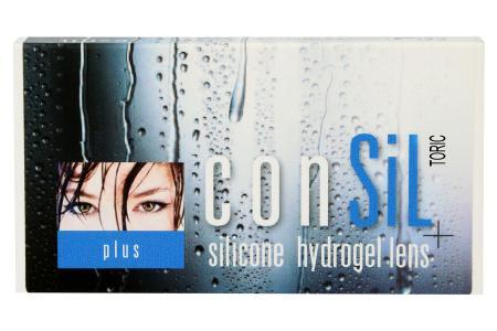ConSiL plus Toric 6 Monatslinsen | ConSiL® plus Toric ist die hoch sauerstoffdurchlässige Silikon-Hydrogel-Monats-Kontaktlinse mit dem  «Plus» an Hyaluronat im Material