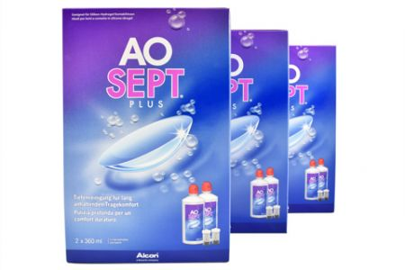 Aosept Plus 6x360ml