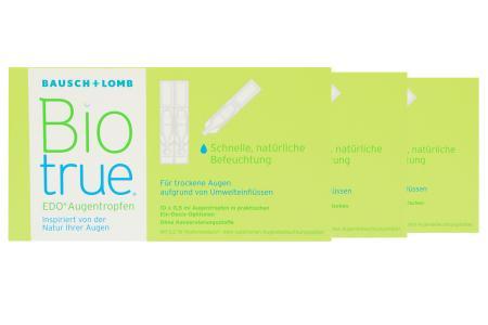 Biotrue EDO® Augentropfen - 3x 10x0,5ml