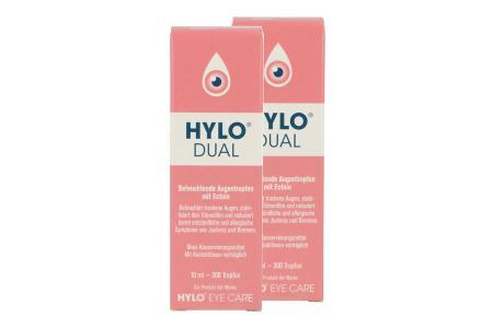 Hylo-Dual 2 x 10 ml Augentropfen