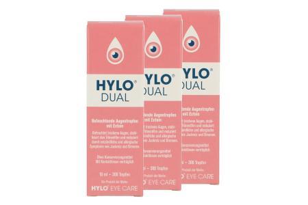 Hylo-Dual Augentropfen 3x10ml