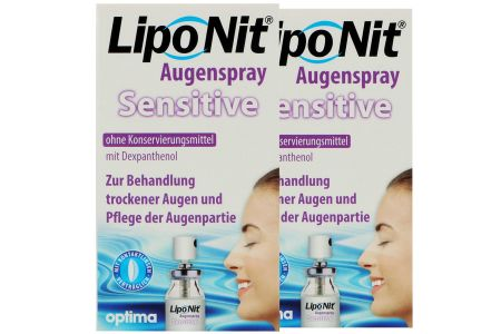 LipoNit Sensitive Augenspray 2x10ml