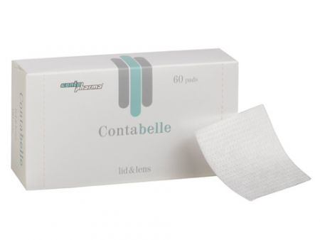 ContaBelle lid&lens Comfort-System 50 ml + Pads