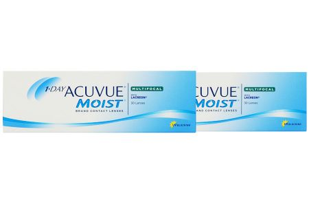 1-Day Acuvue Moist Multifocal, 2x30 Stück Kontaktlinsen von Johnson & Johnson