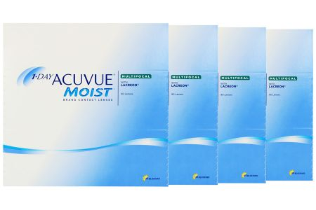 1-Day Acuvue Moist Multifocal 4 x 90 Tageslinsen Sparpaket 6 Monate