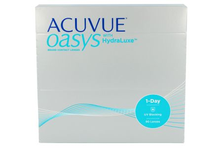 Acuvue Oasys 1-Day with HydraLuxe, 90 Stück Kontaktlinsen von Johnson&Johnson