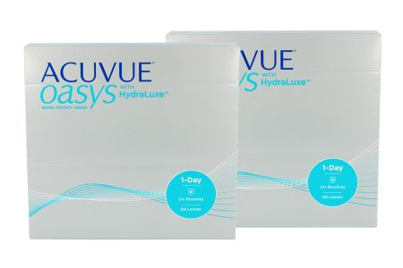 Acuvue Oasys 1-Day with HydraLuxe, 2x90 Stück Kontaktlinsen von Johnson&Johnson