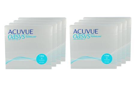 Acuvue Oasys 1-Day with HydraLuxe Kontaktlinsen von Johnson&Johnson, Sparpaket 12 Monate 2x360 Stück
