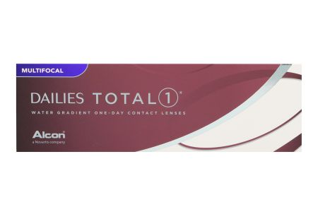 Dailies Total 1 Multifocal 2 x 30 Tageslinsen