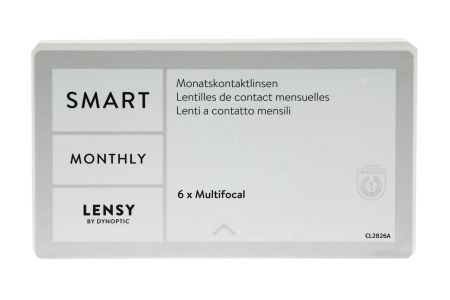 Dynalens 30 SiH Multifocal Kontaktlinsen von Dynoptic & Opti Free Pure Moist, Halbjahres-Sparpaket