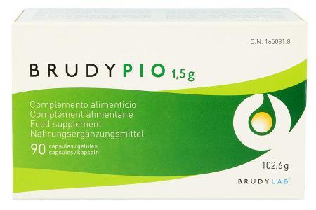 BrudyPio 90 Kapseln Nahrungsergänzung