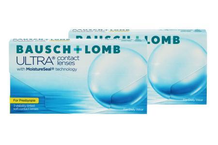 Ultra for Presbyopia, 2x3 Stück Kontaktlinsen von Bausch & Lomb