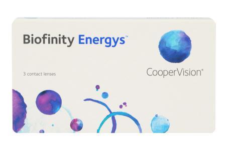 Biofinity Energys 3 Monatslinsen | Biofinity Energys 3 Stück Kontaktlinsen von Cooper Vision