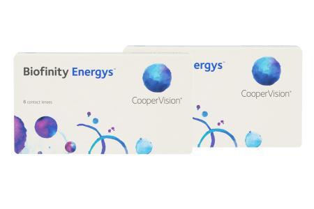 Biofinity Energys 2 x 6 Stück Kontaktlinsen von Cooper Vision