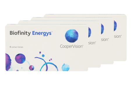 Biofinity Energys 4 x 6 Monatslinsen
