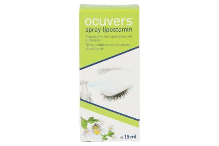 Ocuvers Spray Lipostamin 15 ml Augenspray | Ocuvers Spray Lipostamin 15 ml Augenspray mit Liposomen und Euphrasia