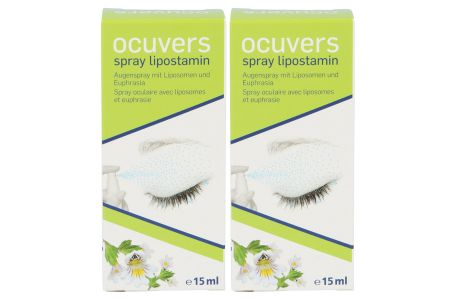 Ocuvers Spray Lipostamin 2 x 15ml