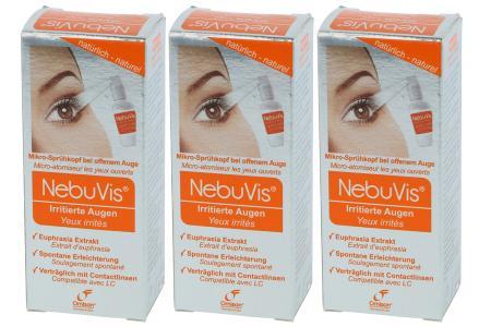 NebuVis Augenspray Irritierte Augen 3 x 10ml