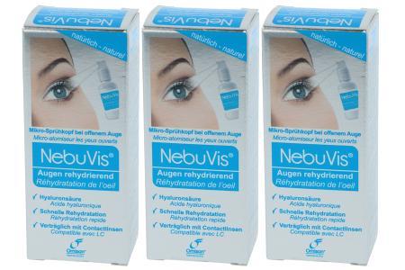 NebuVis Augenspray Augen rehydrierend 3 x 10ml
