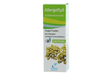 Allergoftyll Strohblumenextraxt Augentropfen 15ml