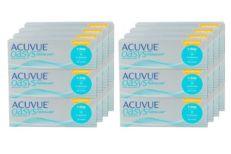 Acuvue Oasys 1-Day for Astigmatism 8 x 90 Tageslinsen Sparpaket 12 Monate |