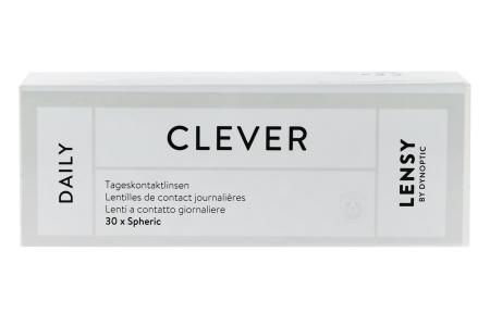 Lensy Daily Clever Spheric, 30 Stück Kontaktlinsen von Dynoptic