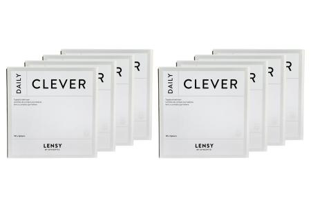 Lensy Daily Clever Spheric 8 x 90 Tageslinsen Sparpaket 12 Monate | Lensy Daily Clever Spheric Kontaktlinsen von Dynoptic, Sparpaket 12 Monate 8 x 90 Stück