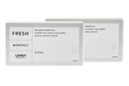 Lensy Monthly Fresh Toric, 2 x 3 Stück