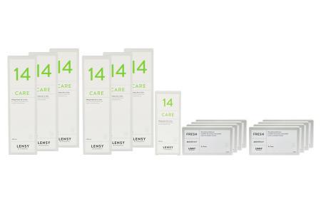 Lensy Monthly Fresh Toric - Lensy Care 14, Halbjahres-Sparpaket