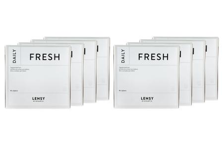 Lensy Daily Fresh Spheric 8 x 90 Tageslinsen Sparpaket 12 Monate | Lensy Daily Fresh Spheric (720er), Dynoptic