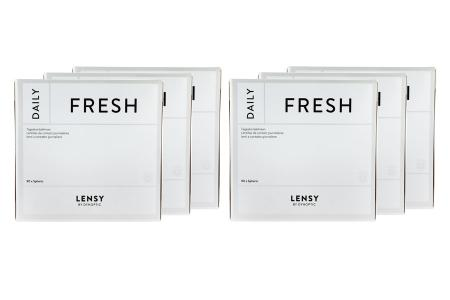Lensy Daily Fresh Spheric 6 x 90 Tageslinsen Sparpaket 9 Monate