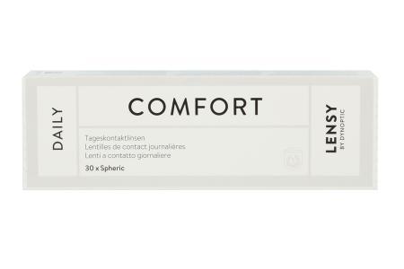 Lensy Daily Comfort Spheric, 30 Stück Kontaktlinsen von Dynoptic