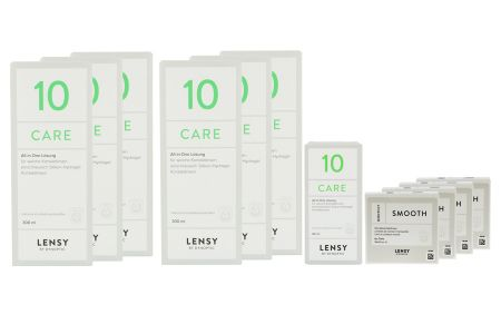 Jahres-Sparpaket, Lensy Monthly Smooth Toric - Lensy Care 10