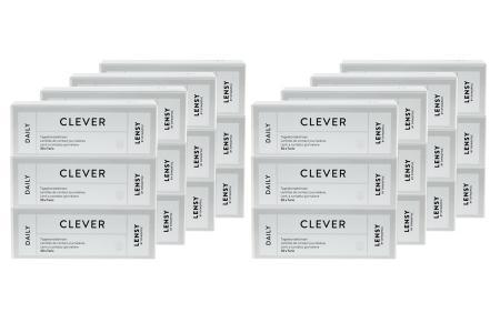 Lensy Daily Clever Toric Kontaktlinsen von Dynoptic, Sparpaket 12 Monate 2 x 360 Stück