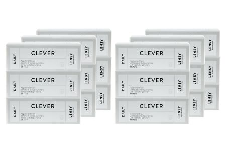 Lensy Daily Clever Toric 6 x 90 Tageslinsen Sparpaket 9 Monate | Lensy Daily Clever Toric Kontaktlinsen von Dynoptic, Sparpaket 9 Monate 6 x 90 Stück