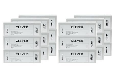 Lensy Daily Clever Toric Kontaktlinsen von Dynoptic, Sparpaket 9 Monate 2 x 270 Stück