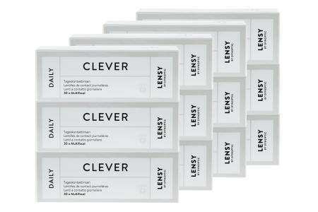 Lensy Daily Clever Multifocal Kontaktlinsen von Dynoptic, Sparpaket 6 Monate 2 x 180 Stück