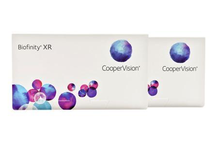 Biofinity XR 2 x 6 Monatslinsen | Biofinity XR, 2 x 6 Stück Kontaktlinsen von Cooper Vision