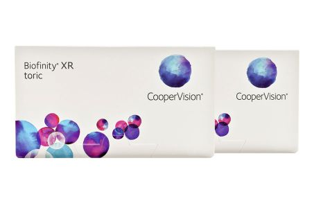 Biofinity toric XR, 2 x 6 Stück Kontaktlinsen von Cooper Vision