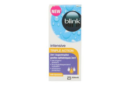 blink intensive Triple Action 10 ml Augentropfen
