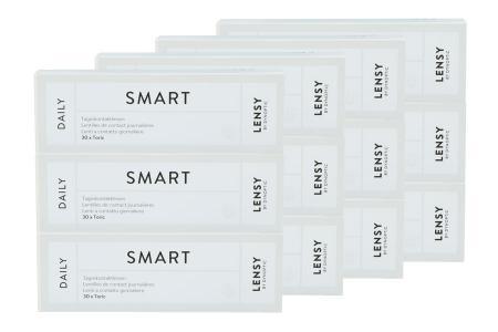 Lensy Daily Smart Toric 4 x 90 Tageslinsen Sparpaket 6 Monate | Lensy Daily Smart Toric Kontaktlinsen von Dynoptic, Sparpaket 6 Monate 4 x 90 Stück