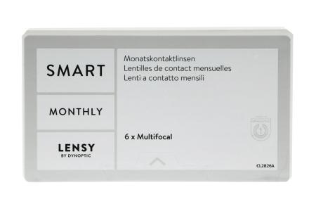 Lensy Monthly Smart Multifocal, 6 Stück